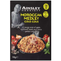 Photo of Ainsley Harriot Cous Cous Moroccan 100gm