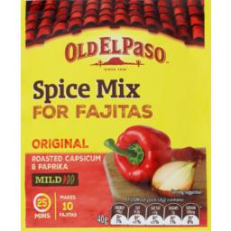 Photo of Old El Paso Fajita Spice Mix 40g