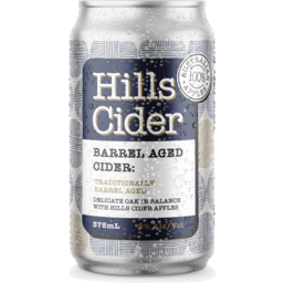 Photo of The Hills Cider Co Barrel Aged Can