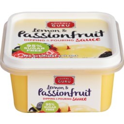 Photo of Gourmet Guru Dipping and Pouring Sauce Lemon & Passionfruit 150g