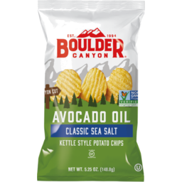 Photo of Boulder Canyon Avocado Oil Sea Salt Kettle Potato Chips