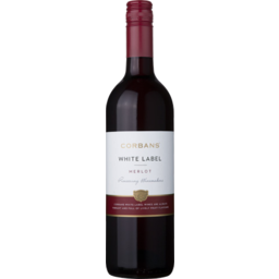 Photo of Corbans White Label Merlot 750ml