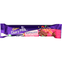 Photo of Cadbury Marvellous Creation Chocolate Bar Jelly Pop Candy Beanies 50g