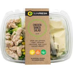 Photo of Sunfresh Chicken Ranch Salad 220g