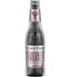 Photo of Fever Tree Sparkling Club Soda Bottles