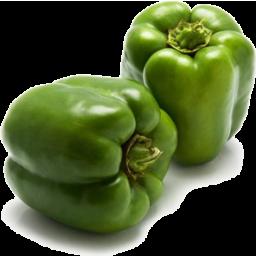 Photo of Capcicum Green Each min. 200g