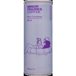 Photo of Minor Figures Nitro Cold Brew Coffee Black 200ml