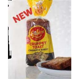 Photo of Golden Crumpet Toast Cinnamon Burst 600g