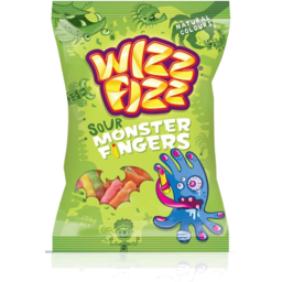 Photo of Wizz Fizz Sour Monster Fingers 150g