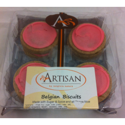 Photo of Rangiora Bakery Artisan Belgium Biscuits 8 Pack