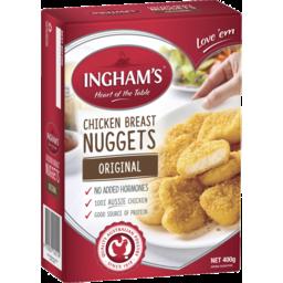 Photo of Ingham Chicken Breast Nuggets Original 400g