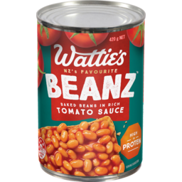 Photo of Watties Baked Beans Regular 420g