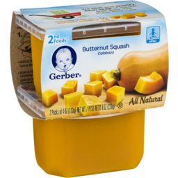 Photo of Gerber 2nd Foods Buternut Squash