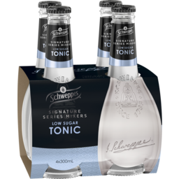 Photo of Schweppes Signature Series Mixers - Low Sugar Tonic