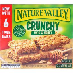 Photo of Nature Valley Crunchy Bar Oats & Honey 252g