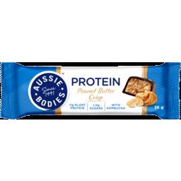 Photo of Aussie Bodies Peanut Butter Crisp With Kombucha Protein Bar 36g