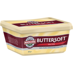 Photo of Mainland Buttersoft Salted 375 G