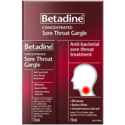 Photo of Betadine Concentrated Sore Throat Gargle 15ml