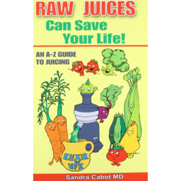 Photo of Cabot. Sandra Book - Raw Juices Can Save Your Life