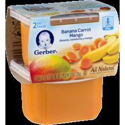Photo of Gerber Banana Carrot Mango 2nd Foods