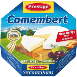 Photo of Prestige Cheese Camembert 125gm