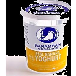 Photo of Barambah Yoghurt Banana 200g