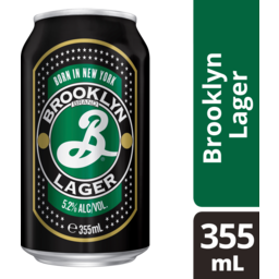 Photo of Brooklyn Lager Cans