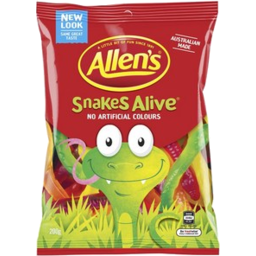 Photo of Allens Snakes Alive 200g