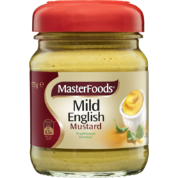 Photo of Masterfoods Mild English Mustard 175g