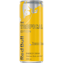 Photo of Red Bull Energy Drink Summer Tropical Edition Can