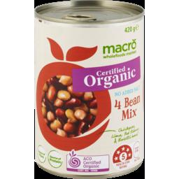 Photo of Macro 4 Bean Mix 420g