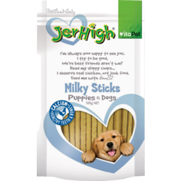 Photo of Vitapet Jerhigh Milky Bites 100g