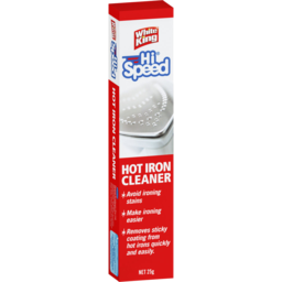 Photo of White King Hi Speed Hot Iron Cleaner 25g