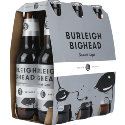 Photo of Burleigh Brewing Co. Big Head No Carb Lager Stubbi