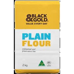 Photo of Black & Gold Plain Flour 2kg