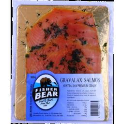 Photo of Fisher Bear Salmon Gravlax 100gm