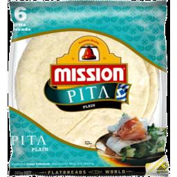 Photo of Mission Pita Bread White 6 pack
