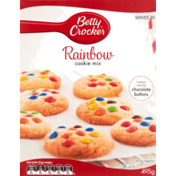 Photo of Betty Crocker Cookies Mix Rainbow 495g