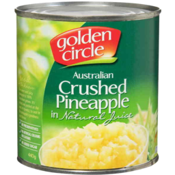 Photo of Golden Circle Australian Crushed Pineapple Pieces In Natural Juice (440g)
