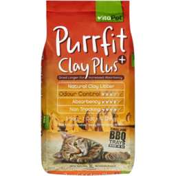 Photo of Vitapet Clay Plus Cat Litter 3L