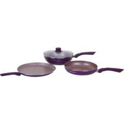 Photo of Wonderchef Royal Velvet Plus 3 pcs Set - Purple