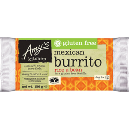 Photo of Amy's Kitchen Frozen Ready Meal - Burrito - Rice & Bean