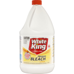Photo of White King Premium Bleach Lemon 2.5lt