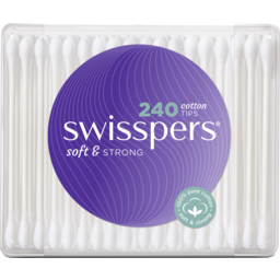 Photo of Swisspers Cotton Tips 240 Pack