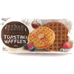 Photo of Urban Pantry Toasting Waffles 180g