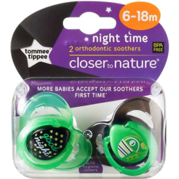 Photo of Tommy Tippy Latex Soother 6-18m 2pk