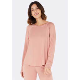 Photo of BOODY BAMBOO Goodnight Raglan Sleep Top Dusty Pink S