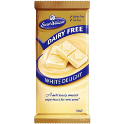 Photo of Sweet William Dairy Free White Delight 100gm