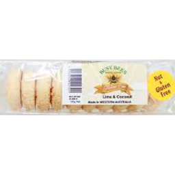 Photo of Busy Bees Gluten Free Lime&Coconut 185g