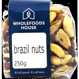 Photo of Wholefoods House Brazil Nuts Organic 250g